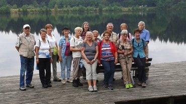Foto von der Seniorenwanderung am 23.7.15 zur Bleamlalm nach Neubau
