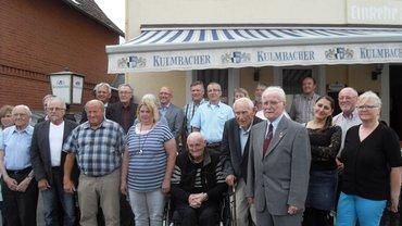 Foto von der Jubilarehrung des ver.di Ortsvereins Kulmbach am 14.7.17