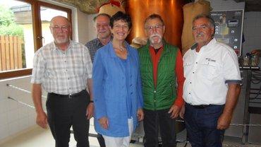 Foto vom Treffen der ver.di Senioren/innen des Bezirks Oberfranken Ost in Kulmbach
