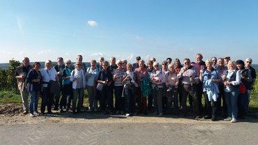 Foto von der ver.di-Senioren-Wandergruppe
